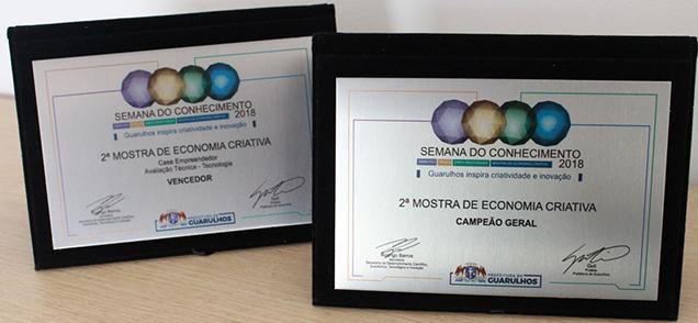 Aplicativo TudoEntregue ganha dois prêmios na 2ª Mostra de Economia Criativa 1