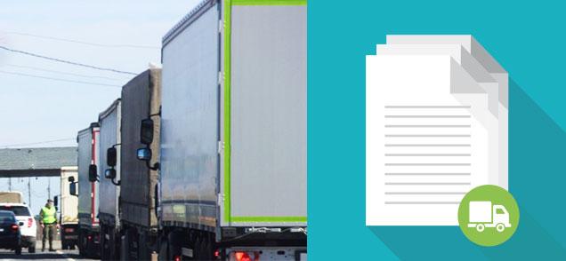 Documentos do transporte